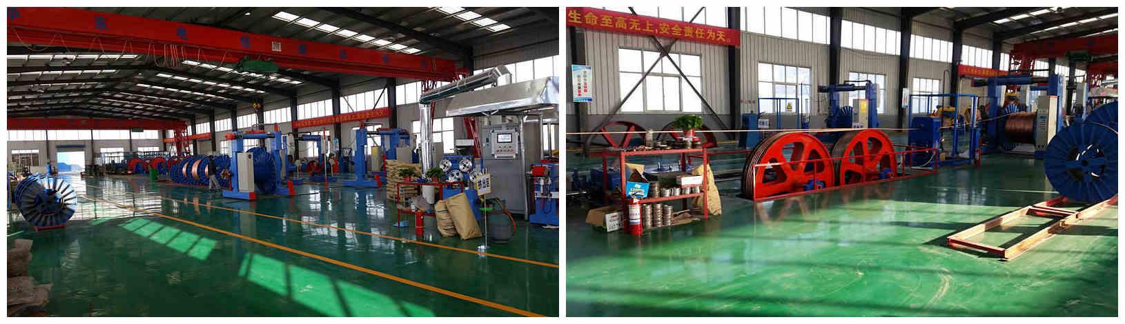 Huadong h07rn f cable Factory Display